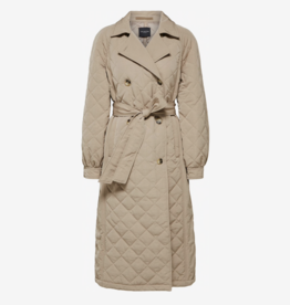 Selected Femme Ninna quilted Trenchcoat