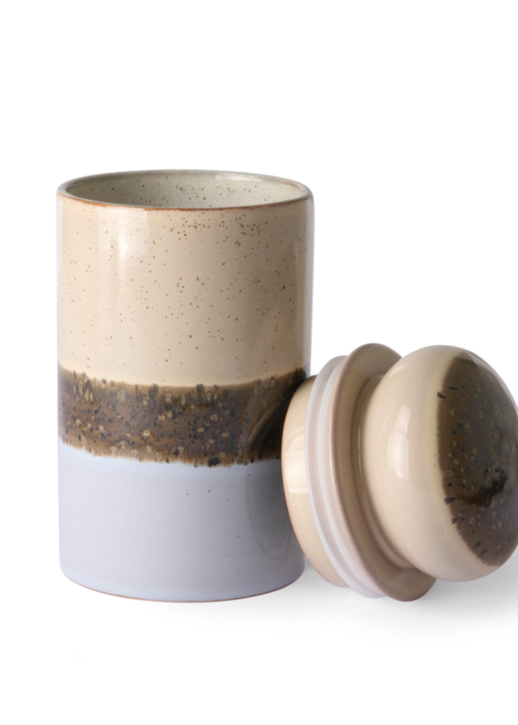 HKliving 70s ceramics: storage jar, lake