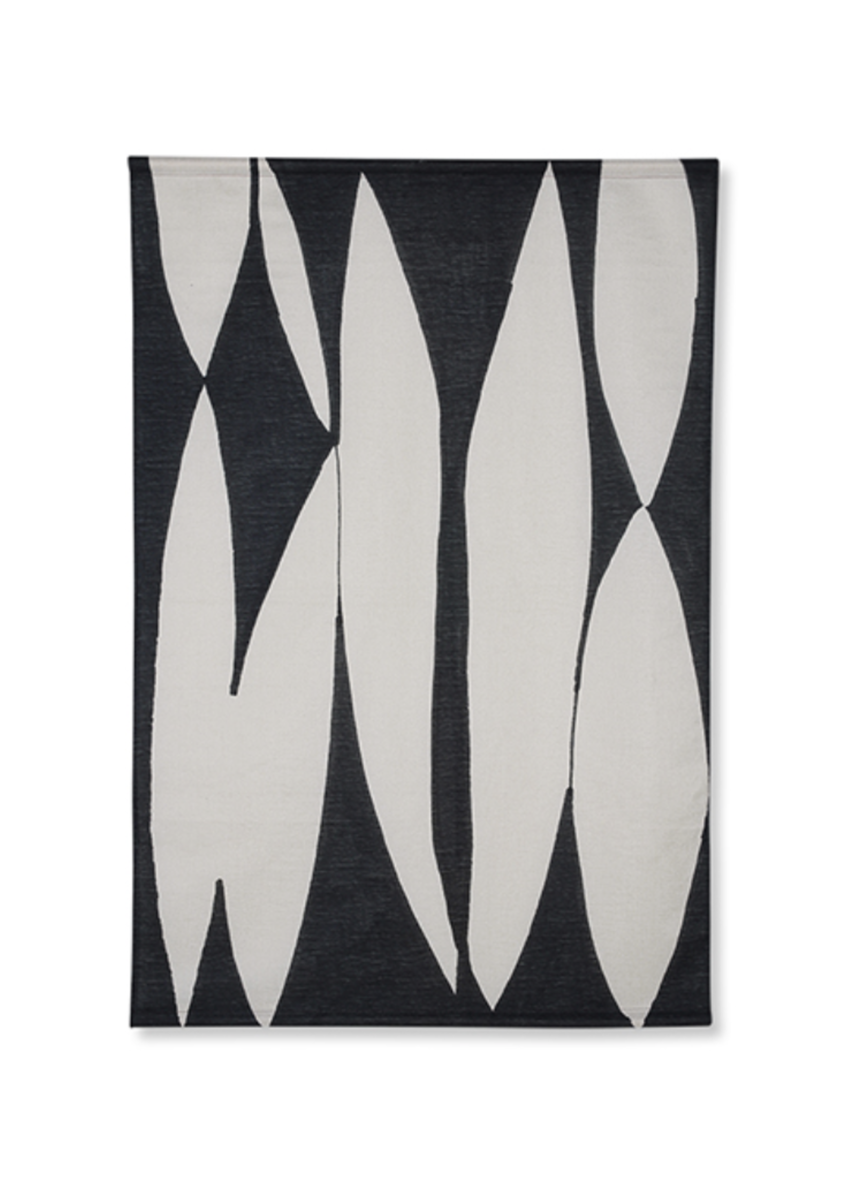 HKliving HK Living Abstract wall chart black/white