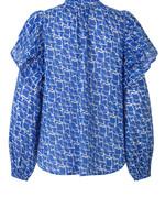 Second Female Dayly shirt Deep Ultramarine