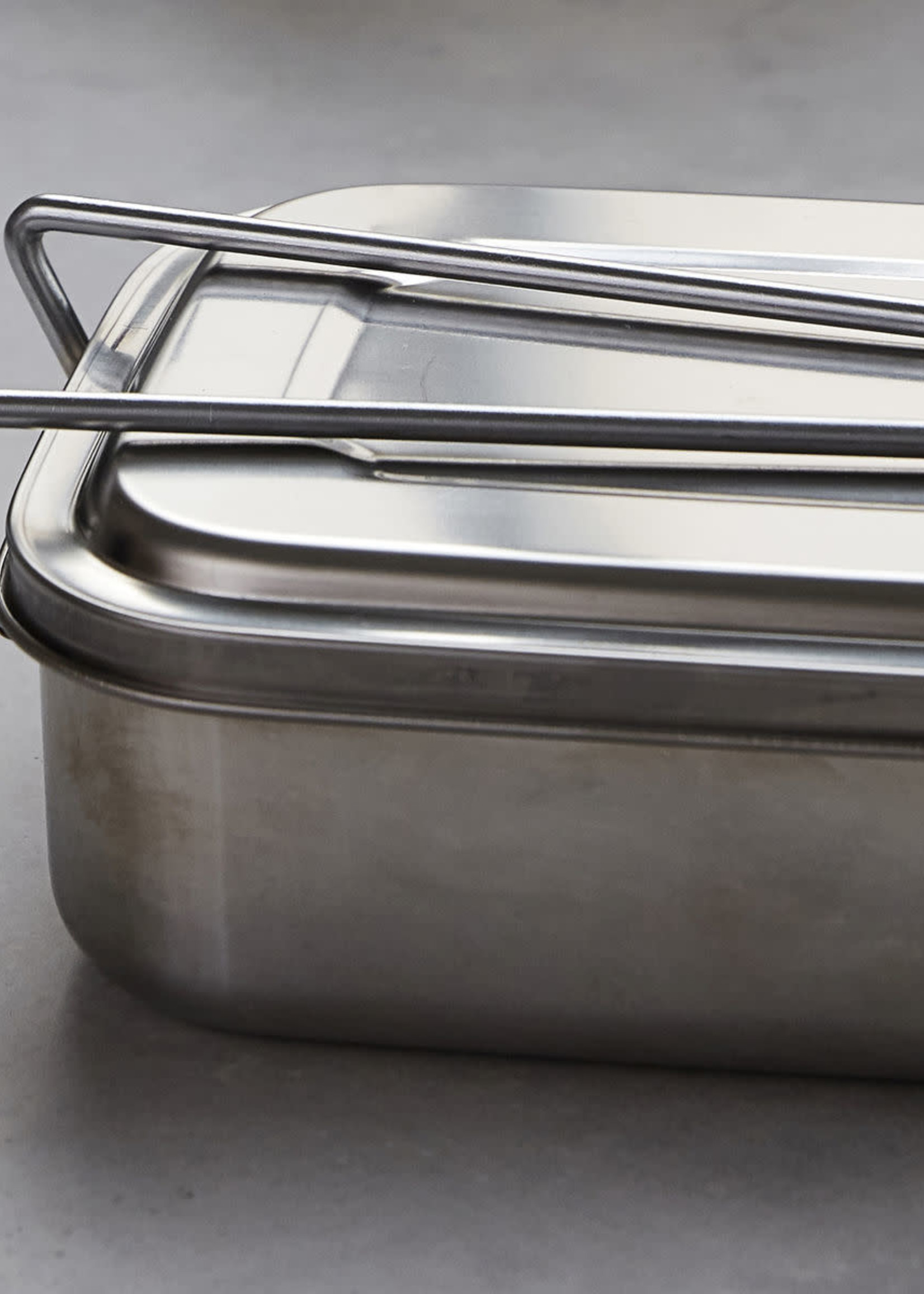 House Doctor Lunch box, Boxit, Silver finish