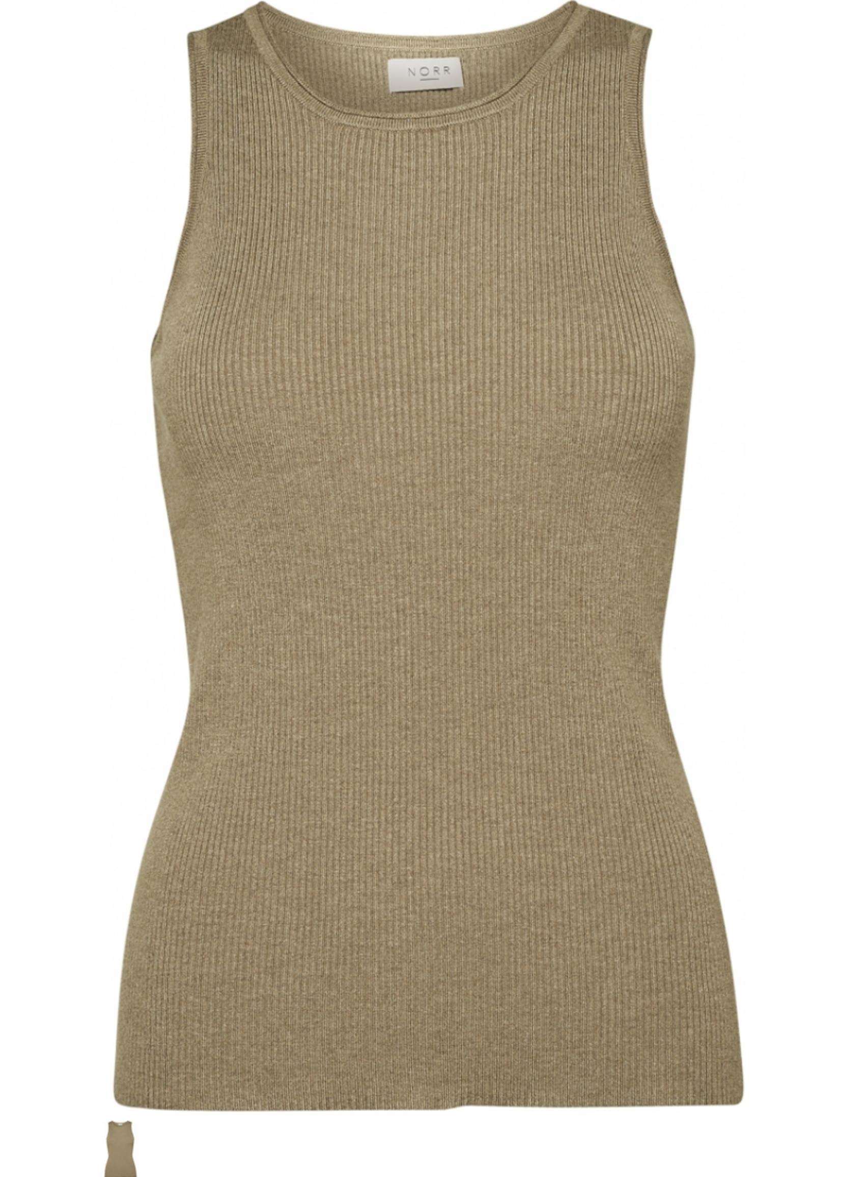 Norr Flora knit top