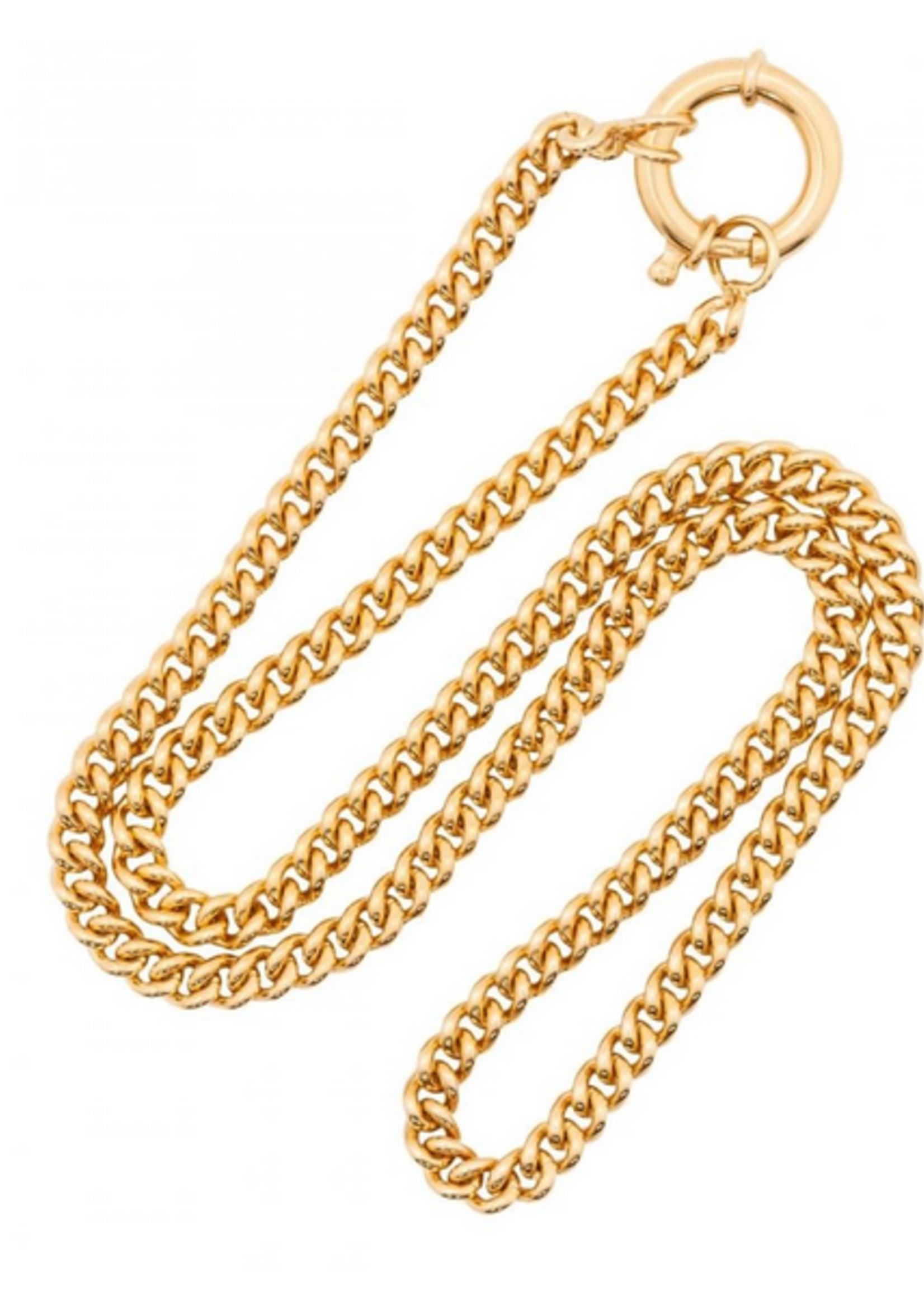 Fashionology Big Clasp Necklace