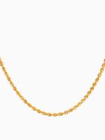 Eline Rosina Twisted rope necklace