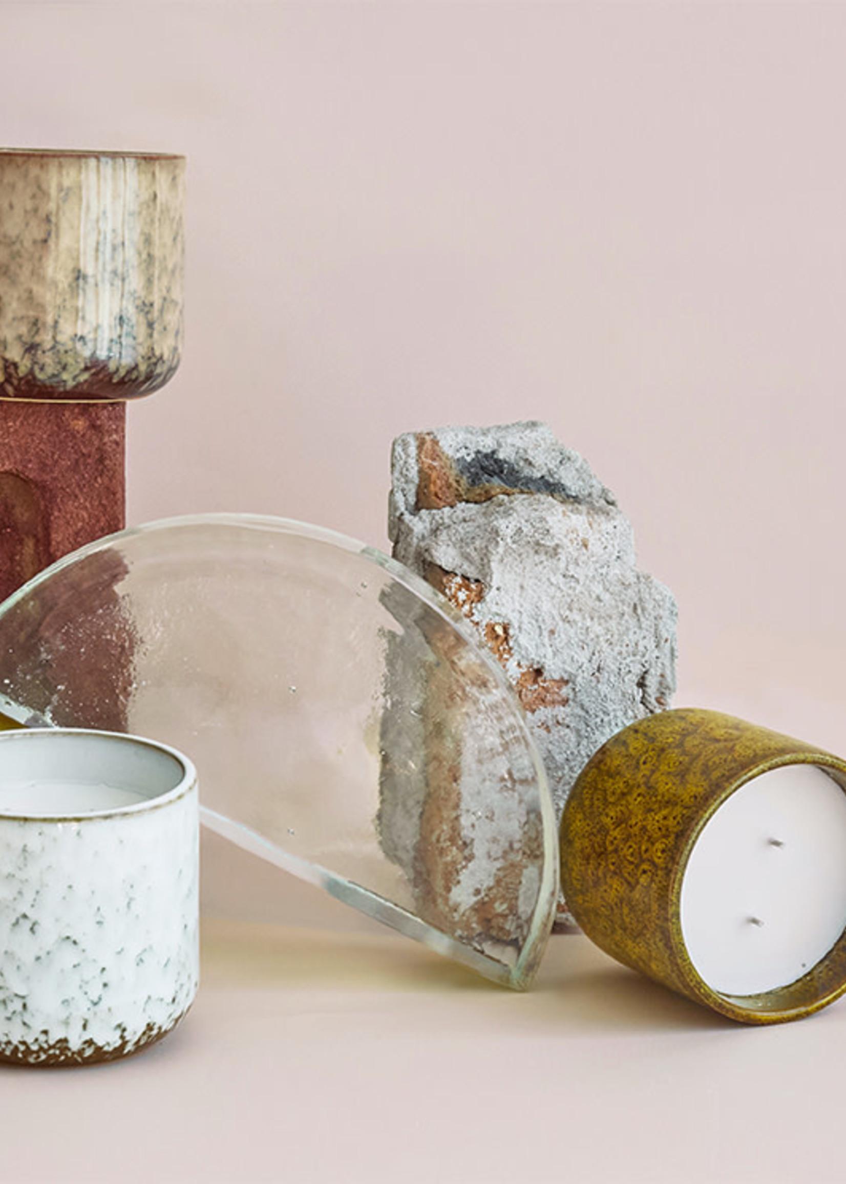 HKliving Ceramic scented candle: casa fruits
