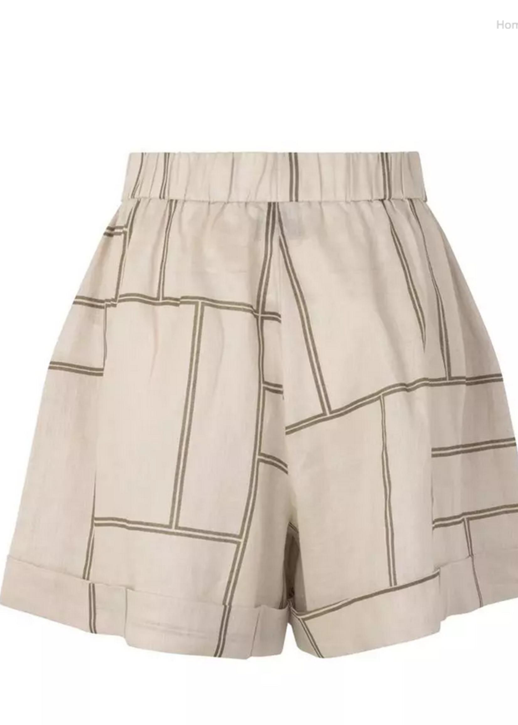 Second Female Laval Shorts Parchment