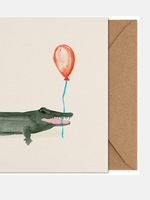 Paper Collective Coco the crocodile  Art Card