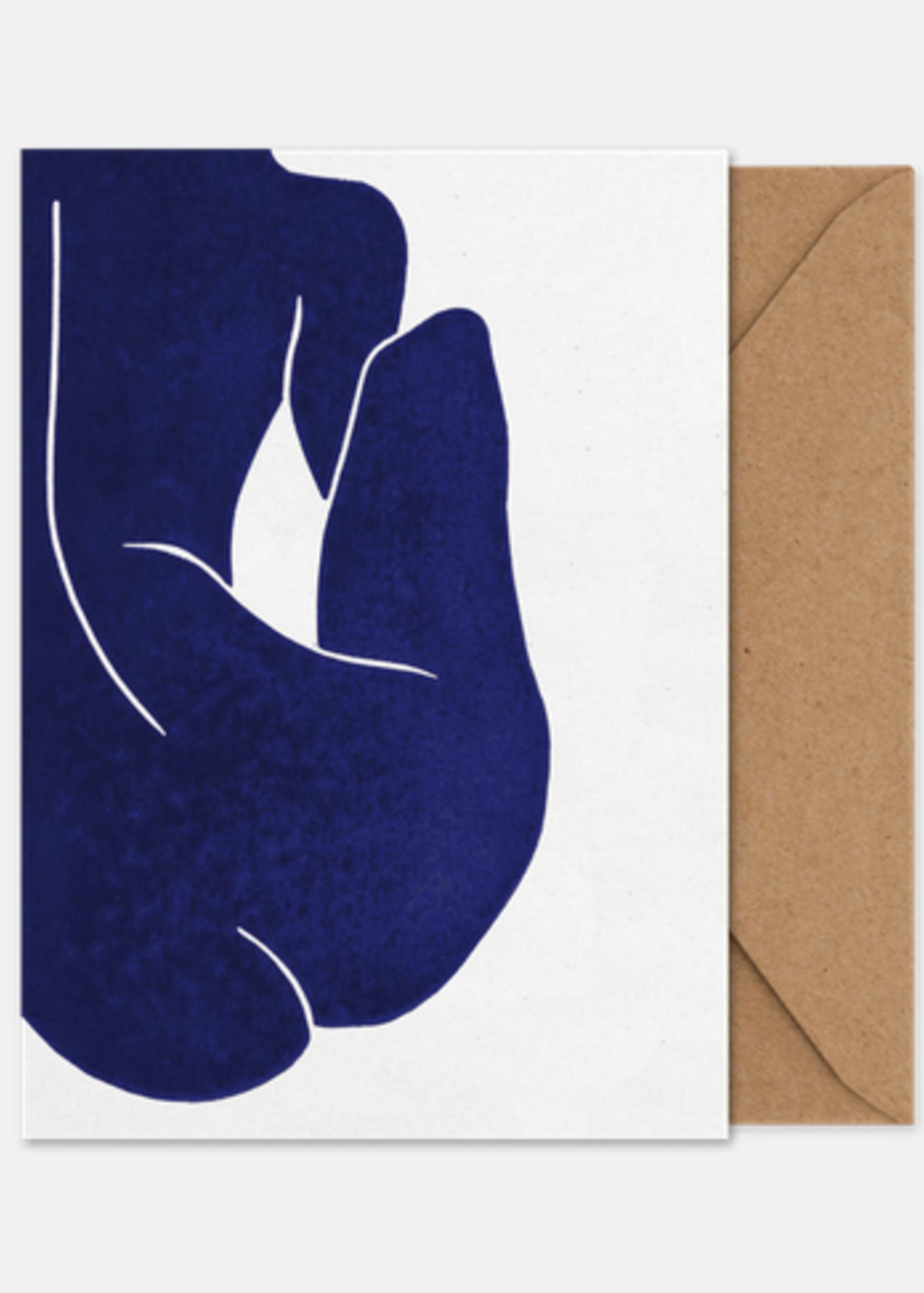 Paper Collective Art card Linocut ||