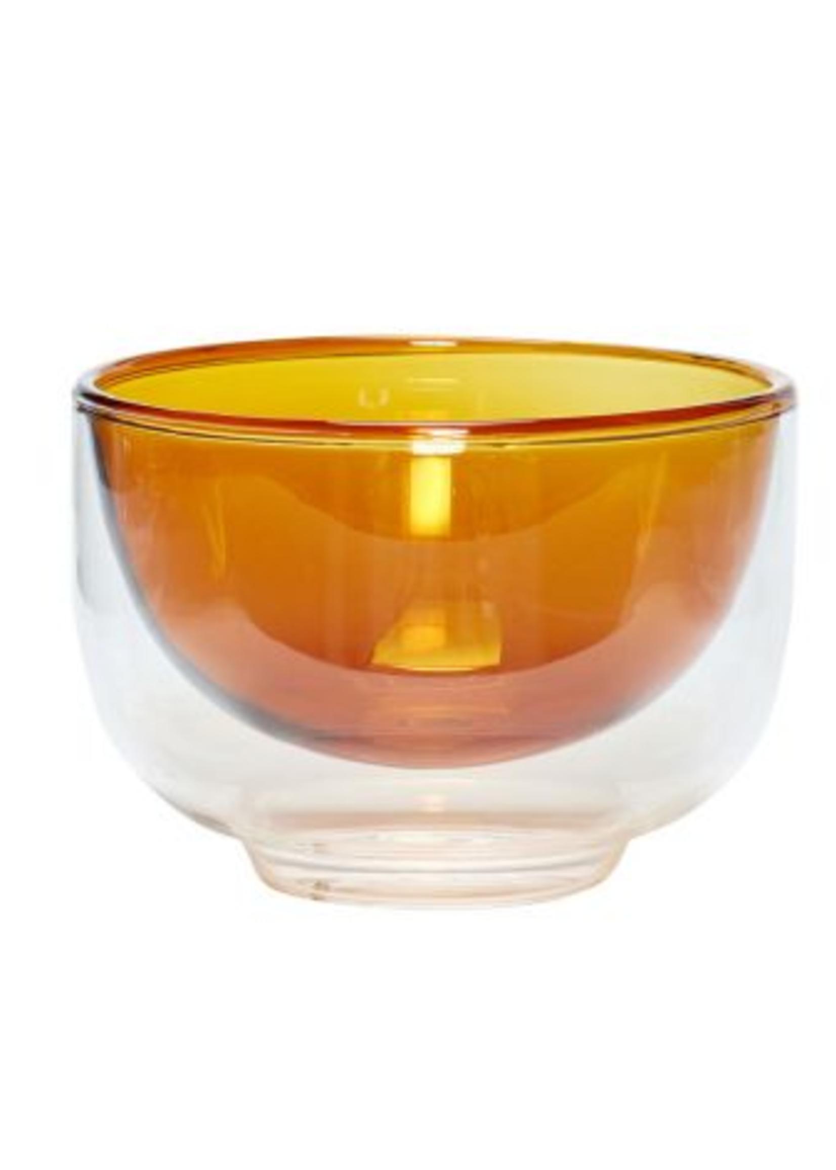 Hubsch Bowl, glass, clear