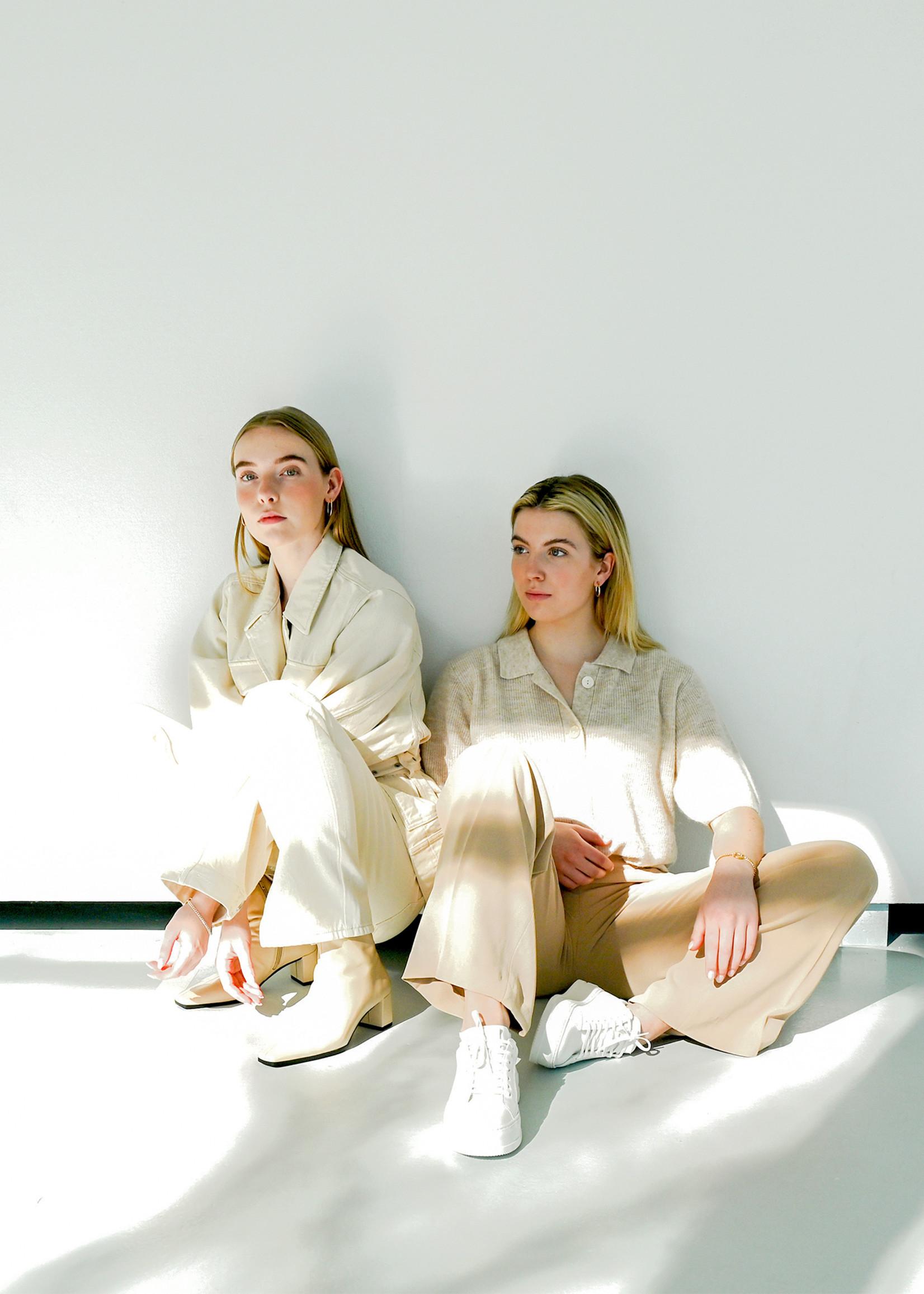 Selected Femme Studio Creme White Denim Jacket