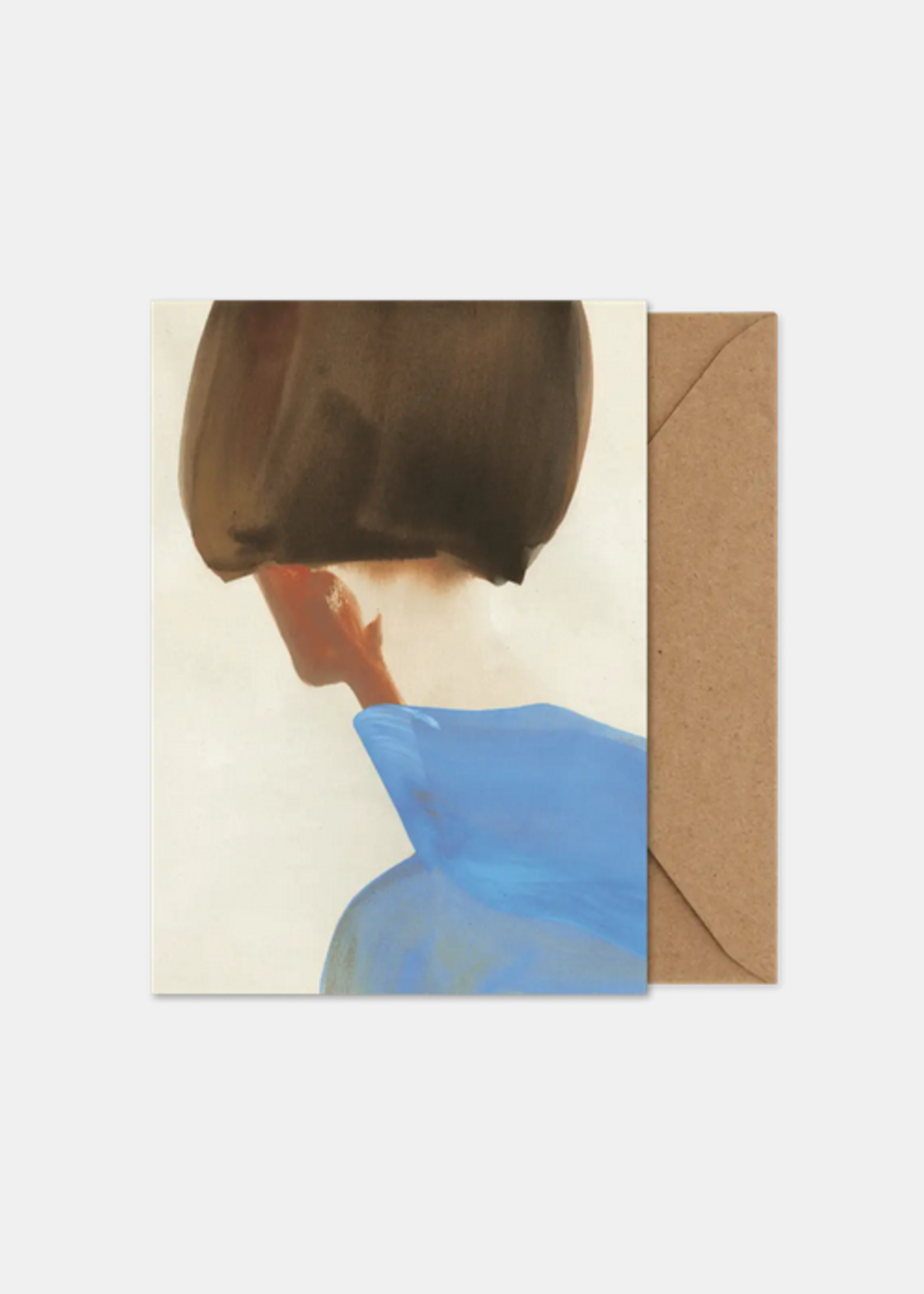 Paper Collective The Blue Cape art card