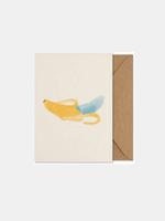 Paper Collective Banana the Banana art card