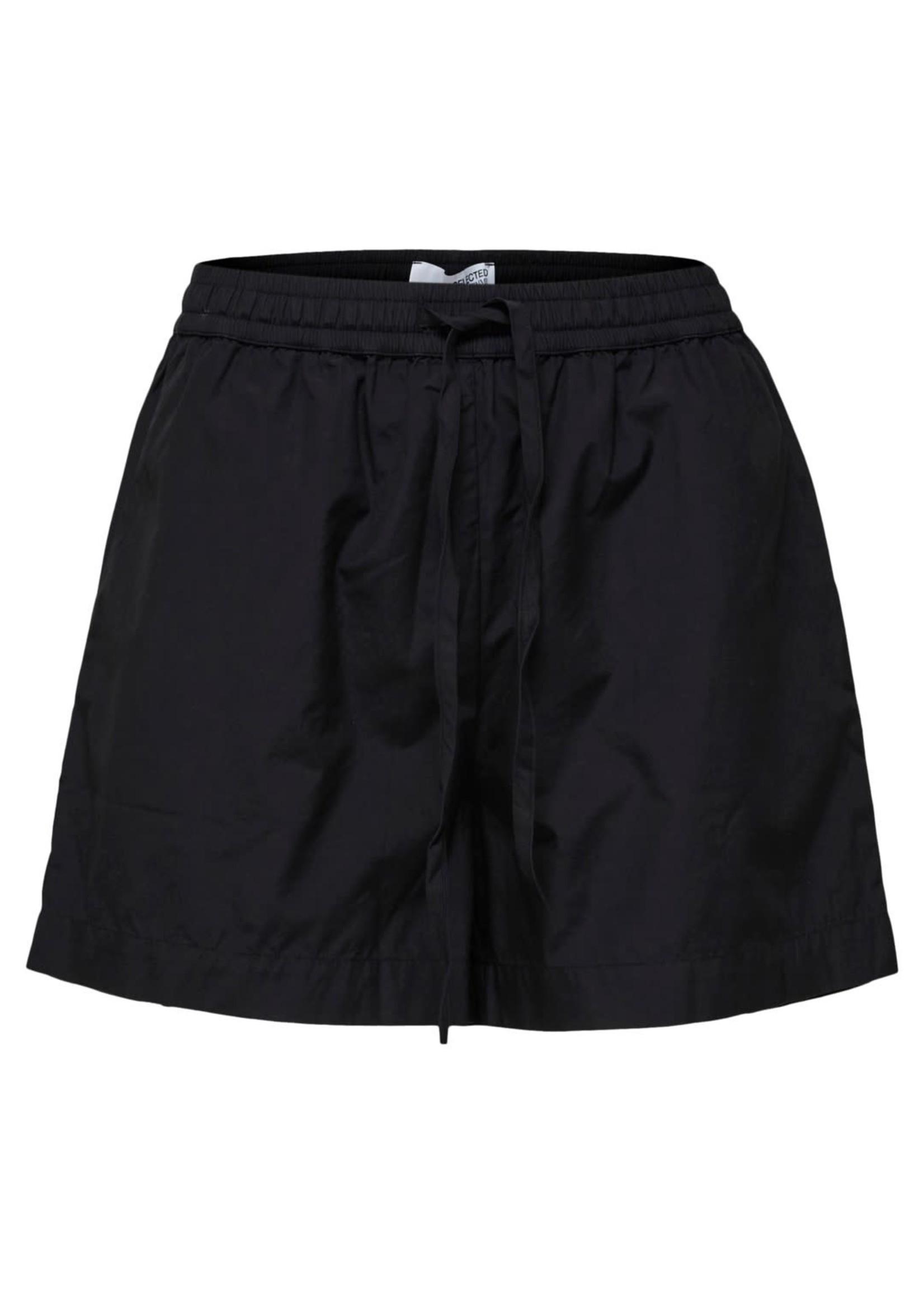 Selected Femme Lilo mw shorts black