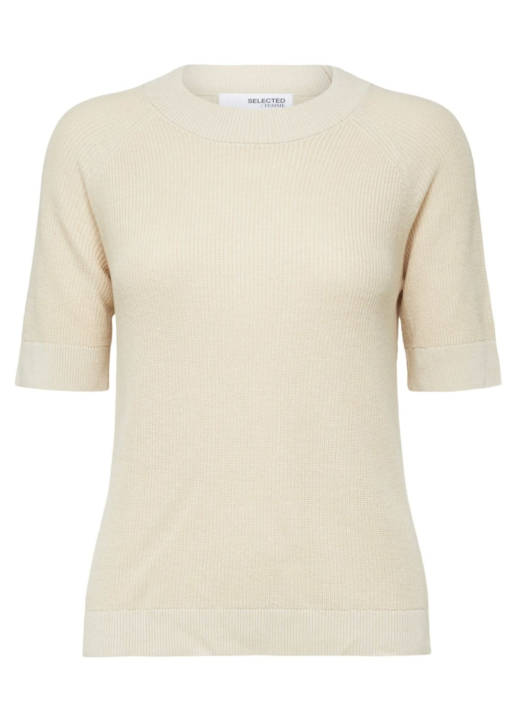Selected Femme Elina ss knit top