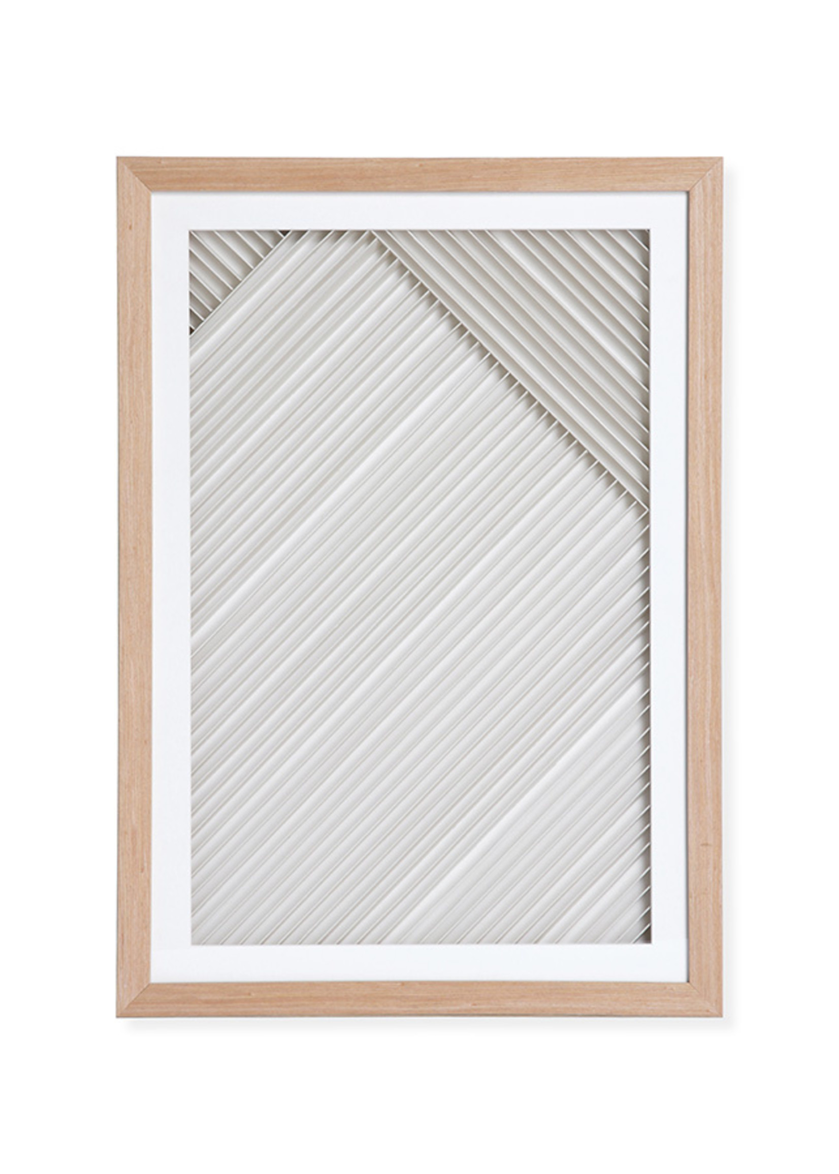HKliving layered paper art frame B