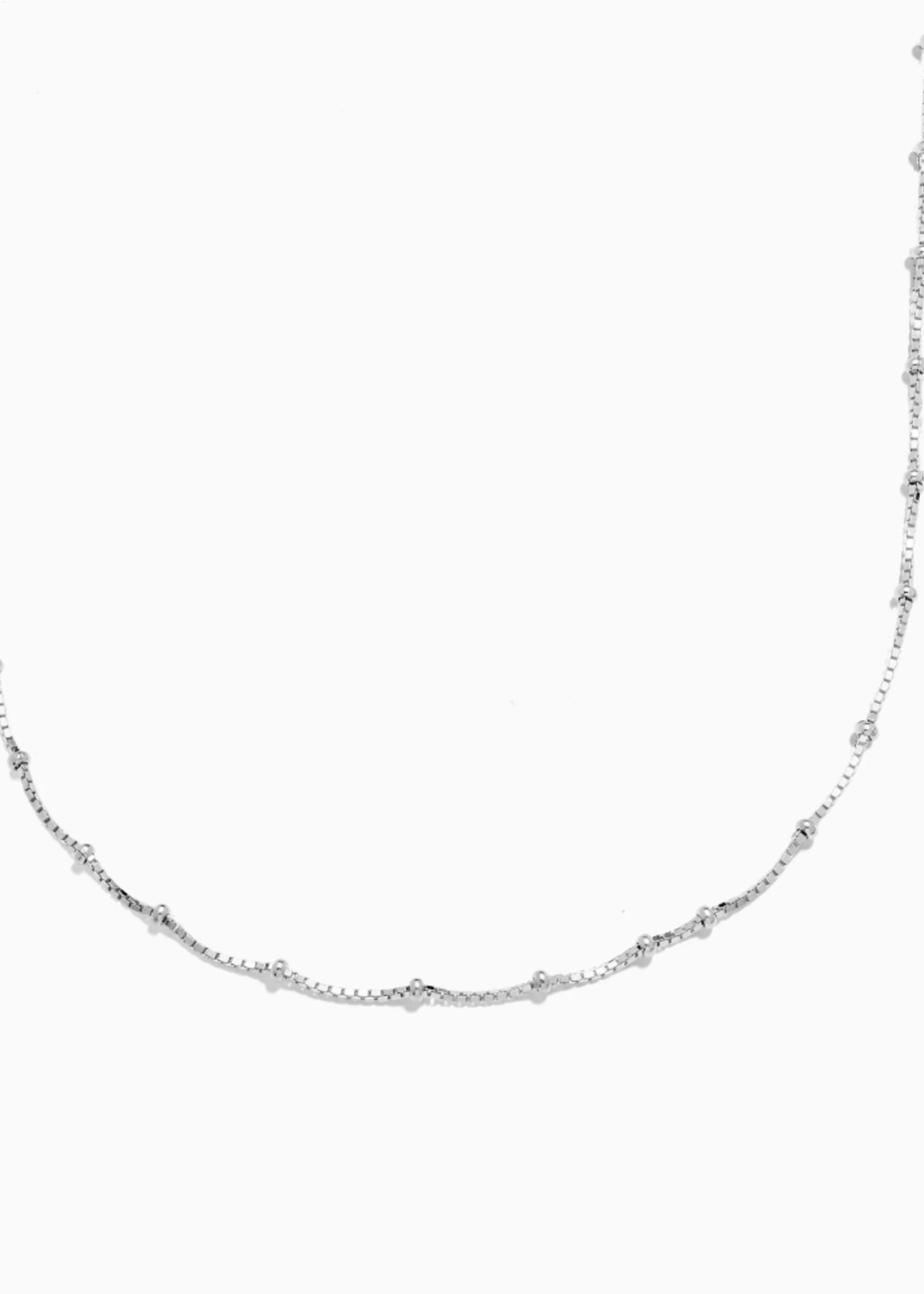 Eline Rosina Tiny dots necklace silver
