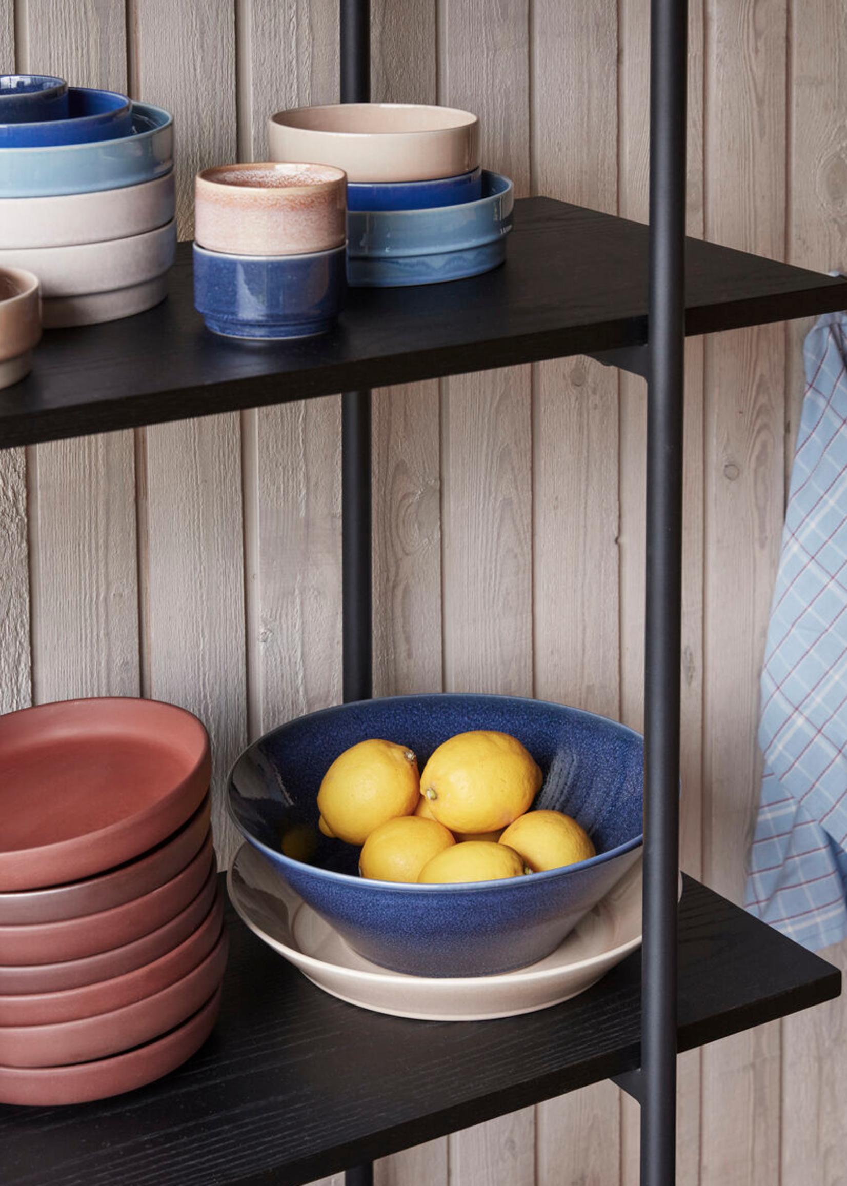 Hubsch Bowl, ceramics, sand 30x5 cm