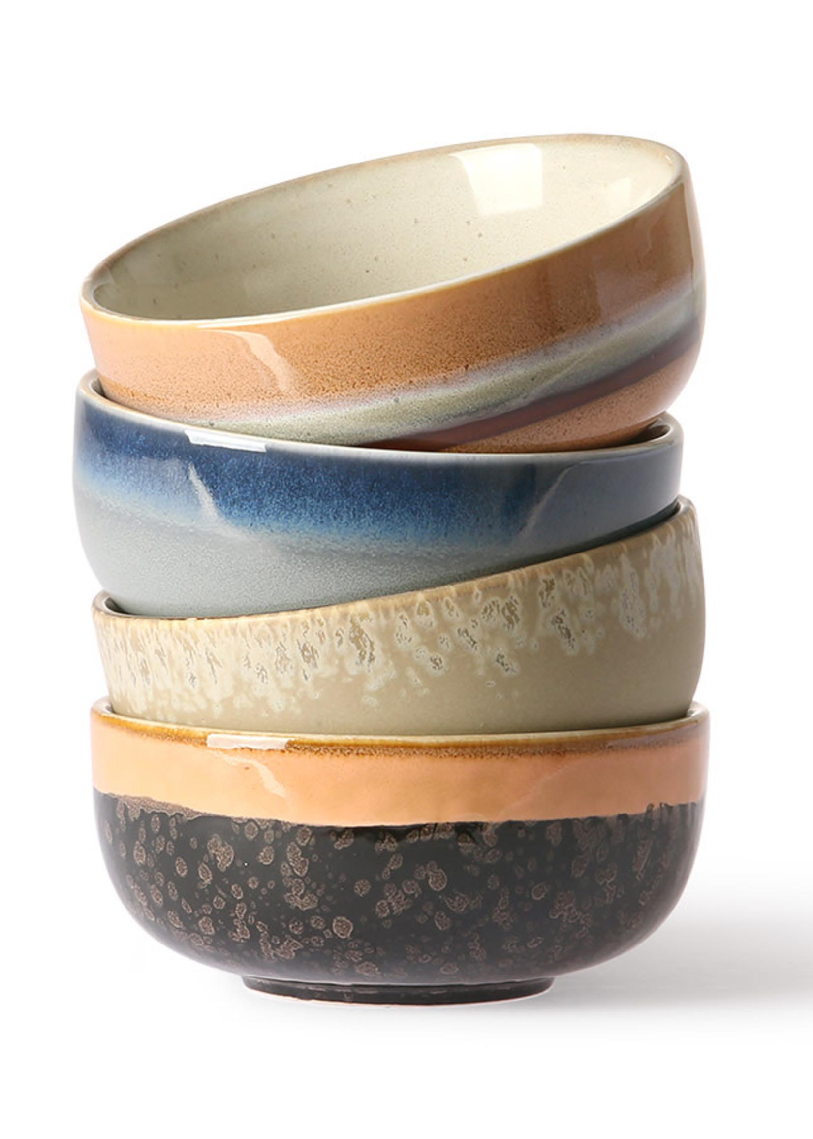 HKliving HKliving ceramic tapas set of 4