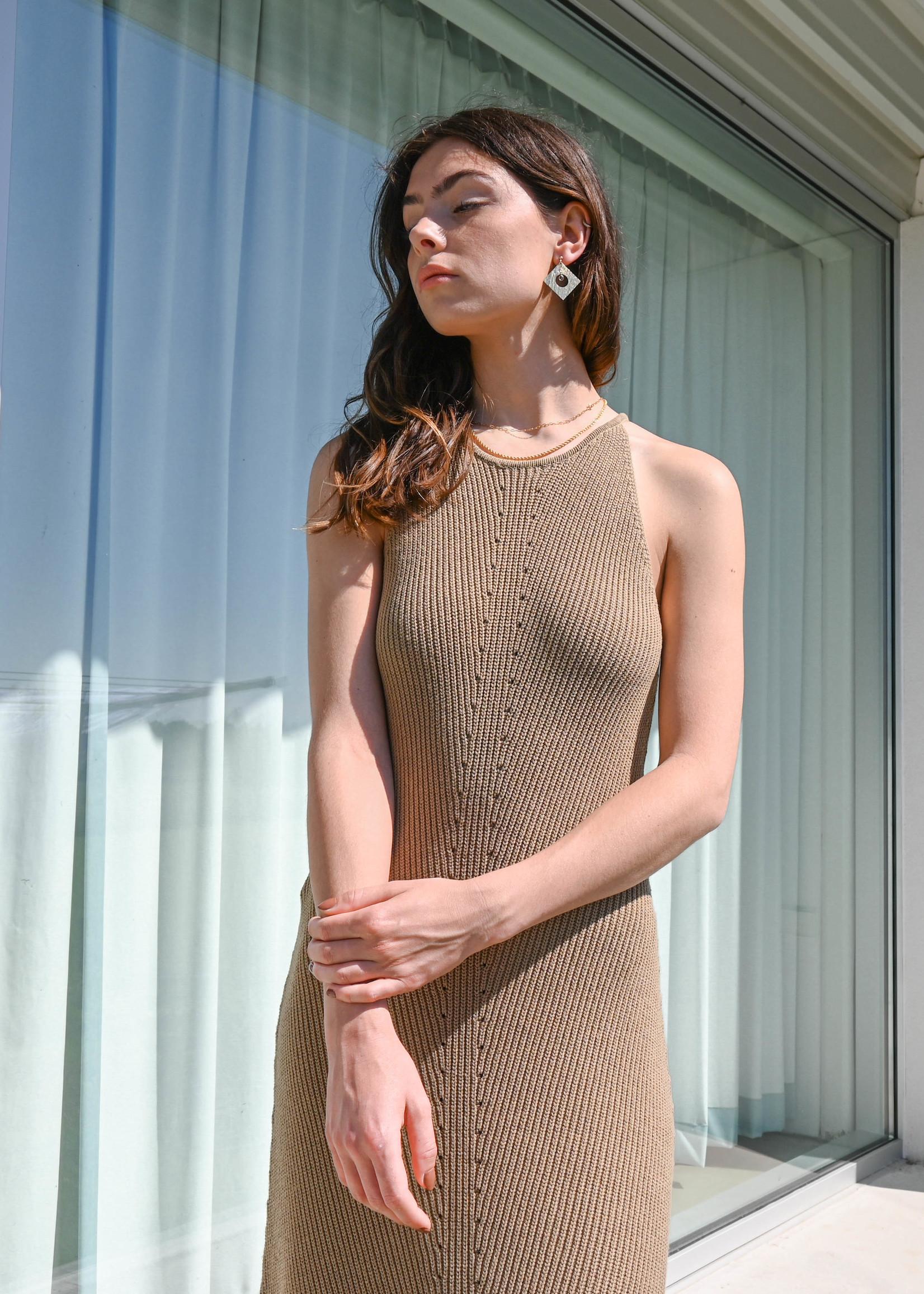 Selected Femme Maxa maxi knit dress