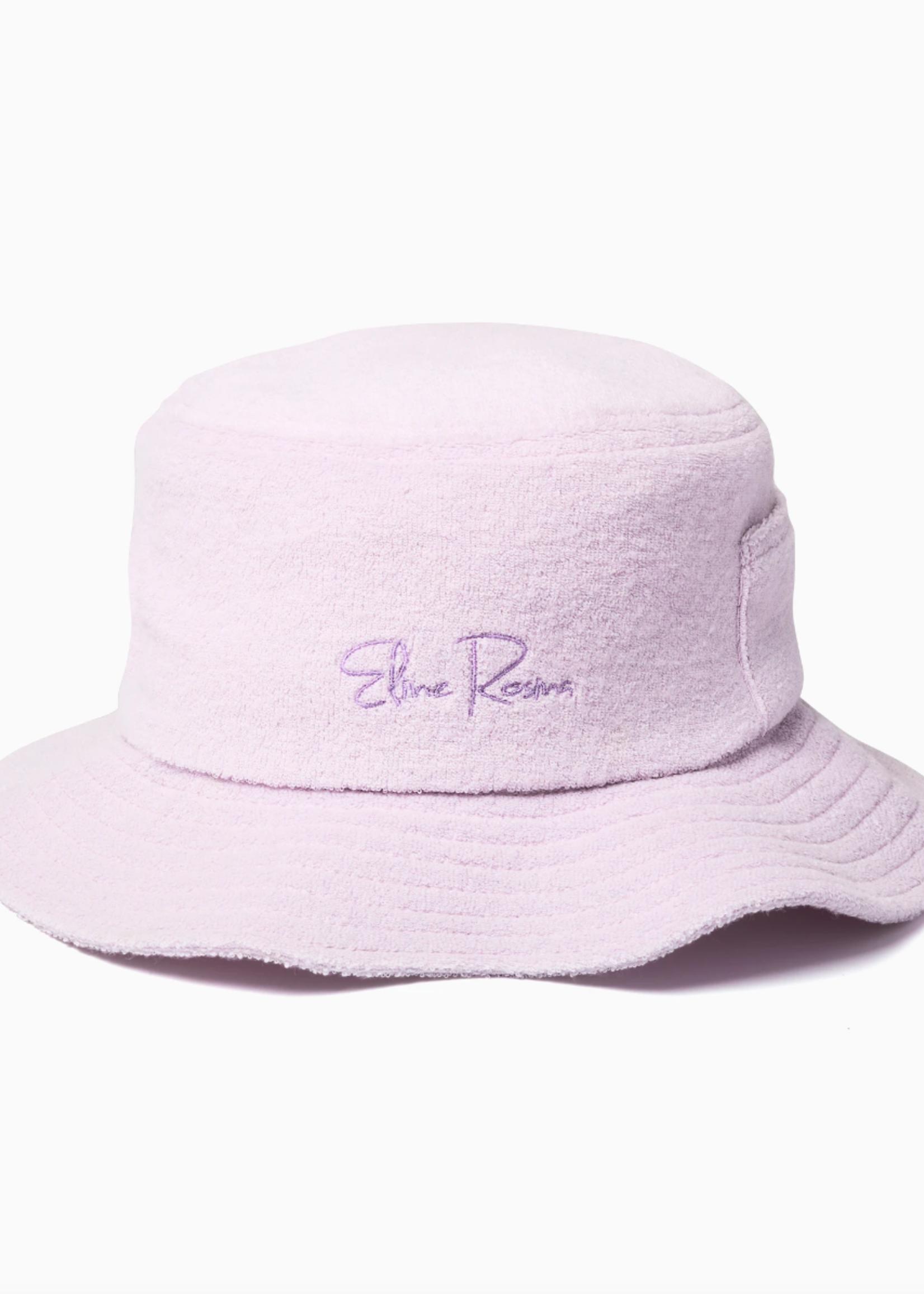 Eline Rosina Terry bucket hat lavender