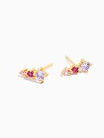 Eline Rosina Dahlia cone earrings