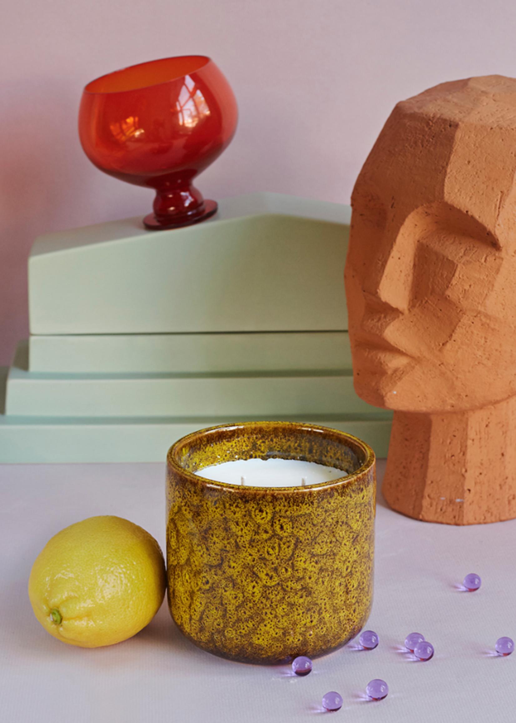 HKliving Ceramic scented candle: cocktails in manhattan