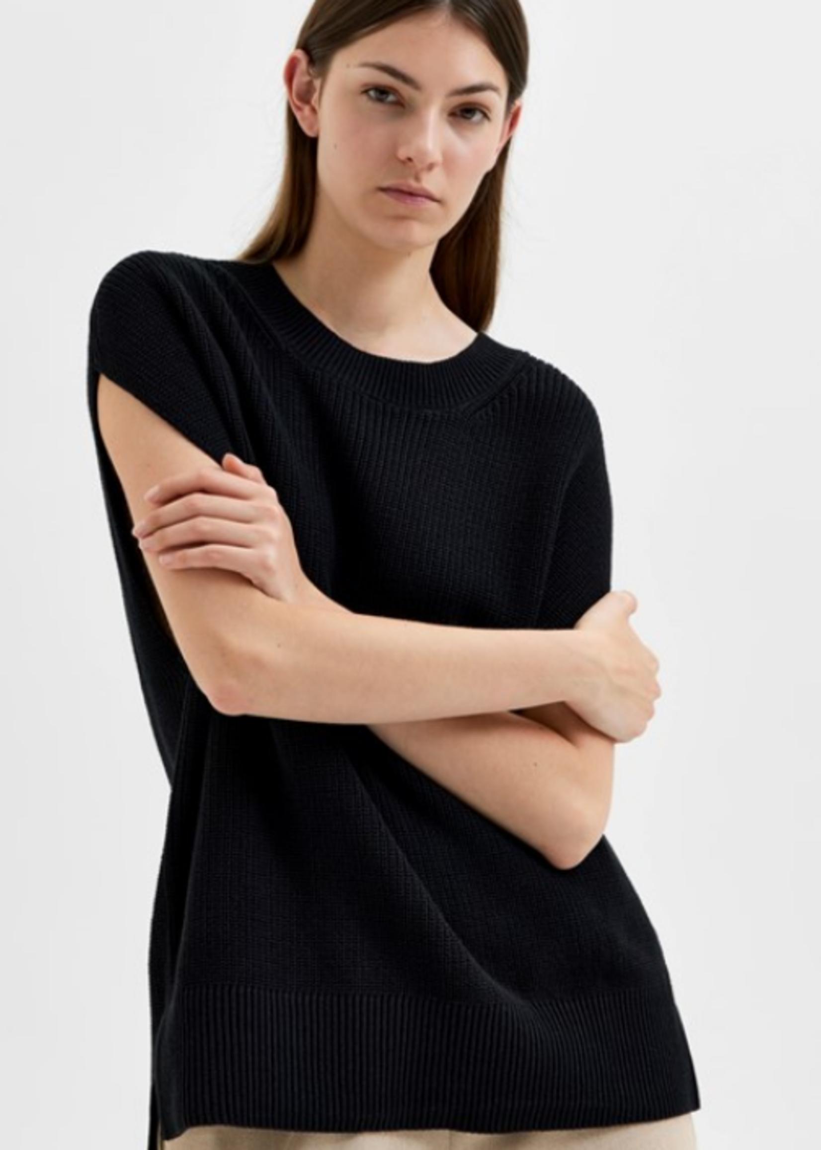 Selected Femme Palma knit vest o-neck