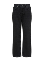 Selected Femme Kate straight slate black jeans