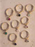 Essyello Single earring colored stone