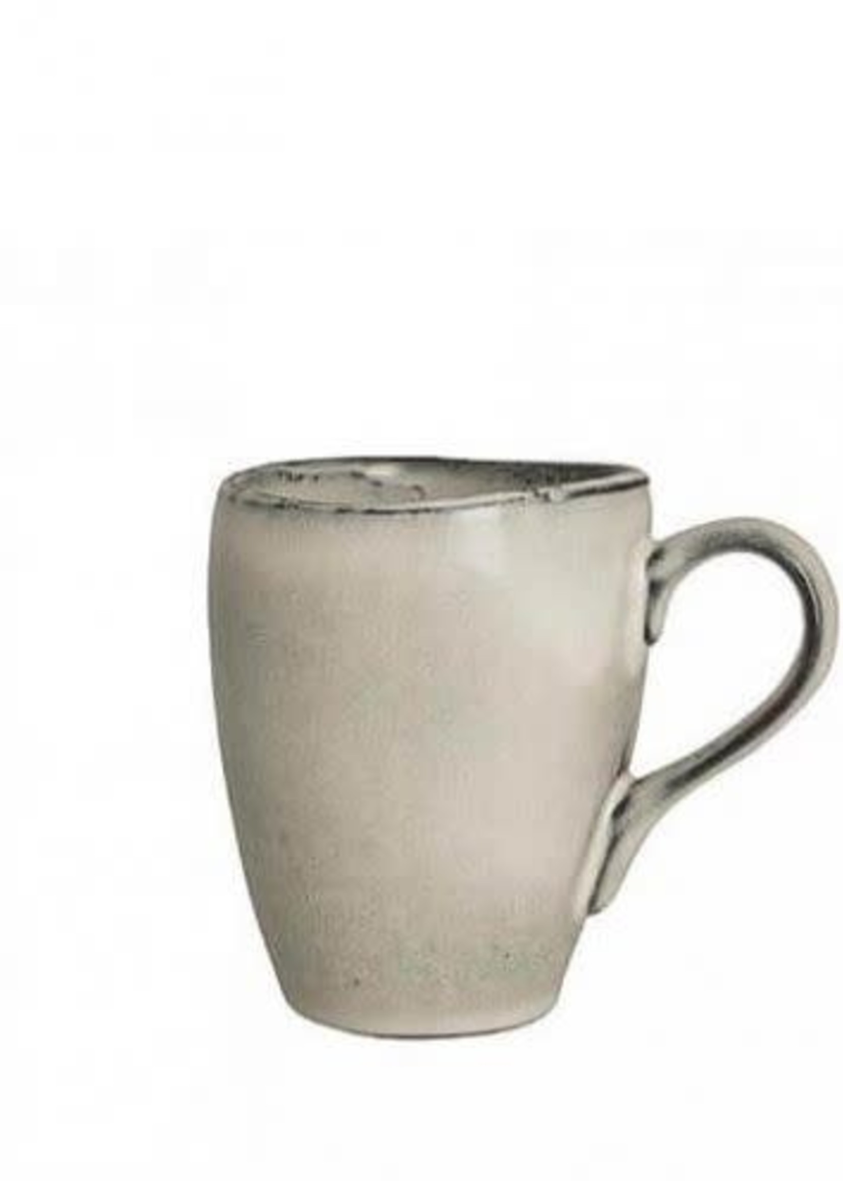 Broste Nordic Sand mug w/handle