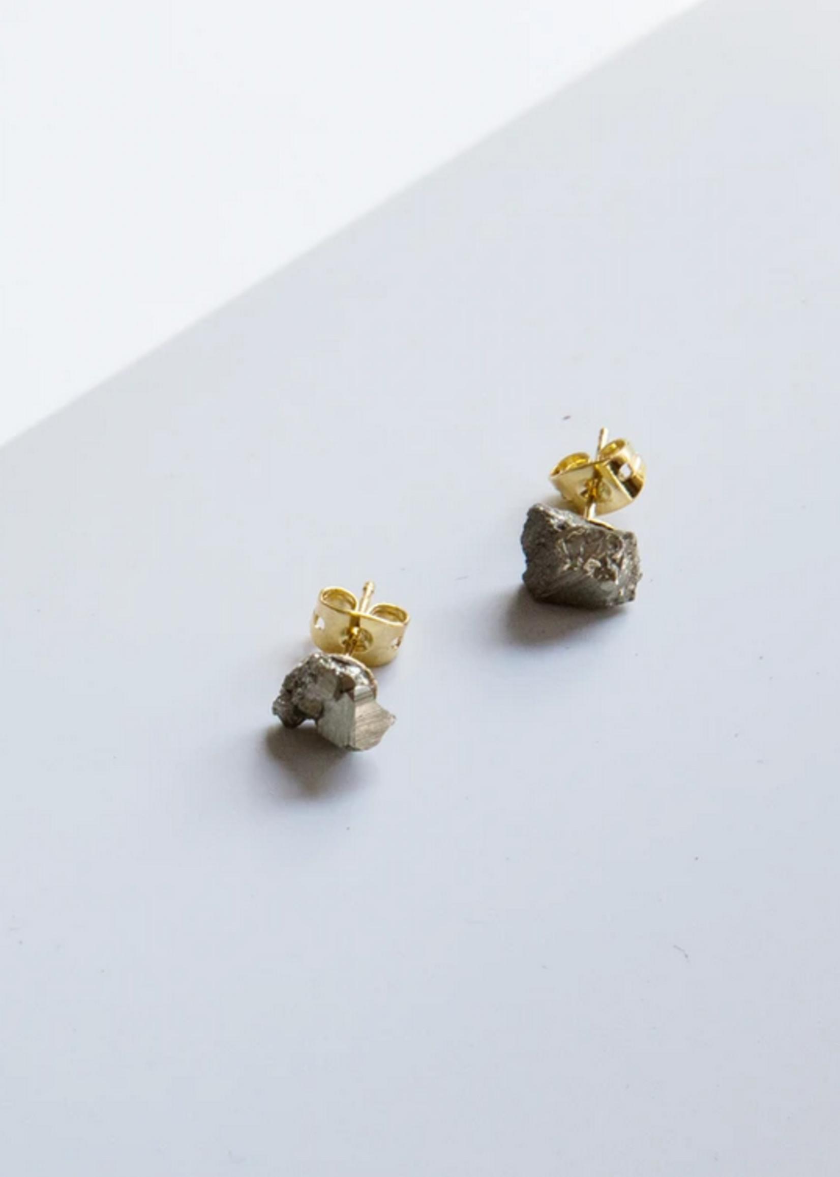 Essyello Pyrite Earrings