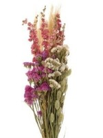 Mood Dry flower Bouquet dutch pink