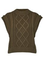Selected Femme Piper knit vest