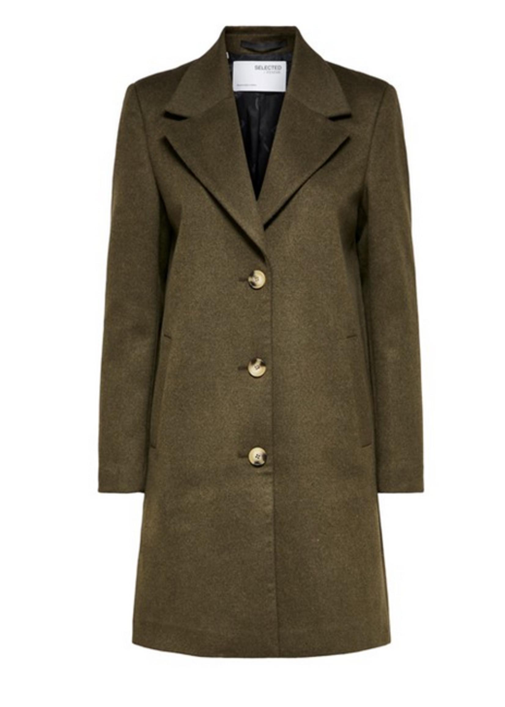 Selected Femme New Sasja Wool Coat