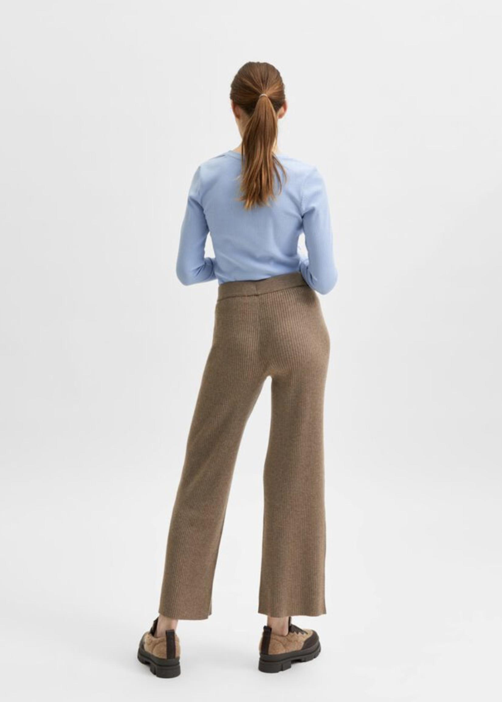 Selected Femme Selected Femme Selene hw knit pant