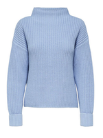 Selected Femme Selma knit t-neck Brunnera Blue