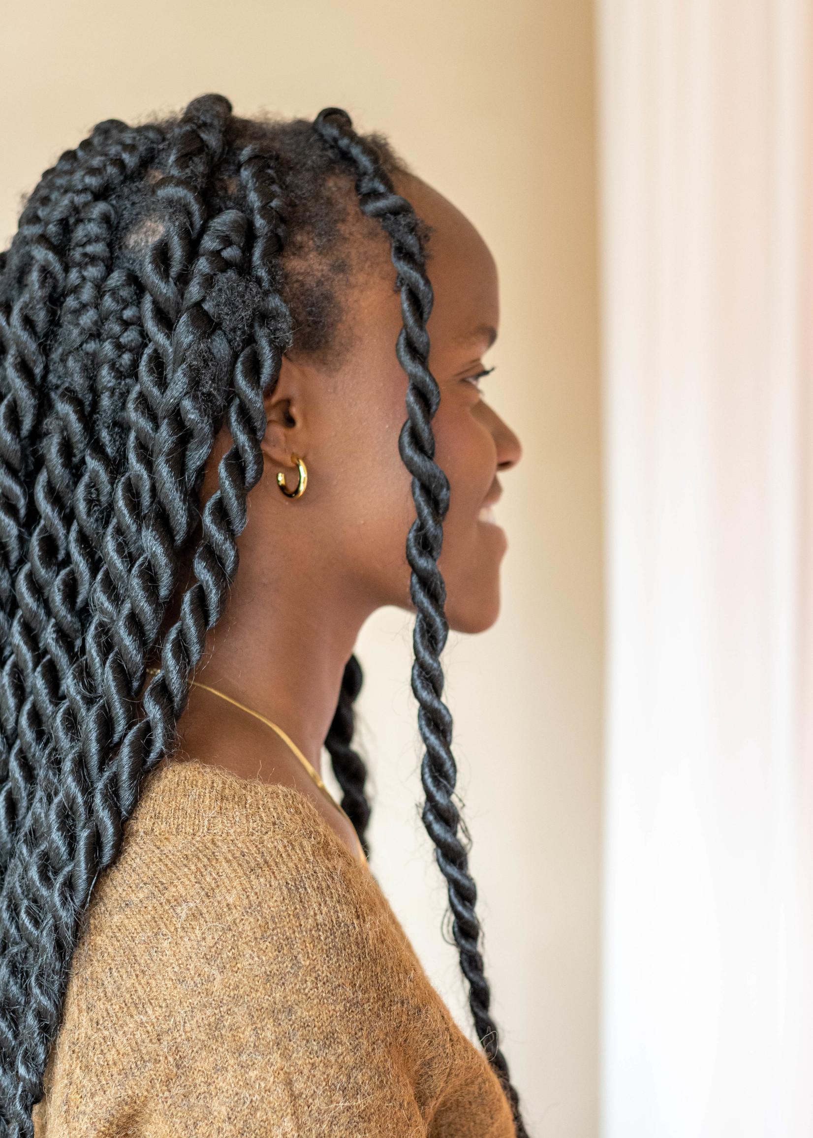 Eline Rosina Flat Snake Chain Necklace