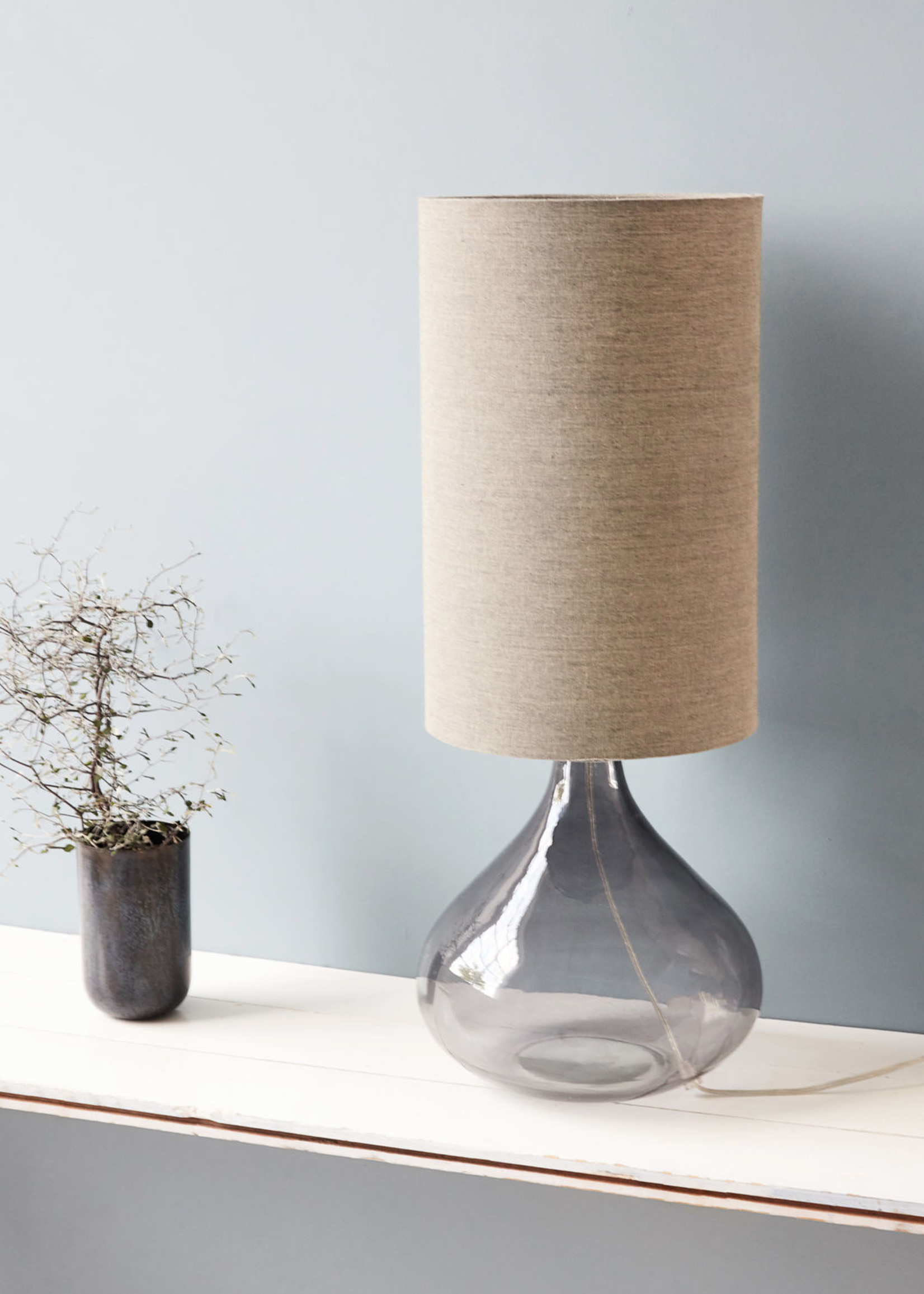 House Doctor Table Lamp grey/beige