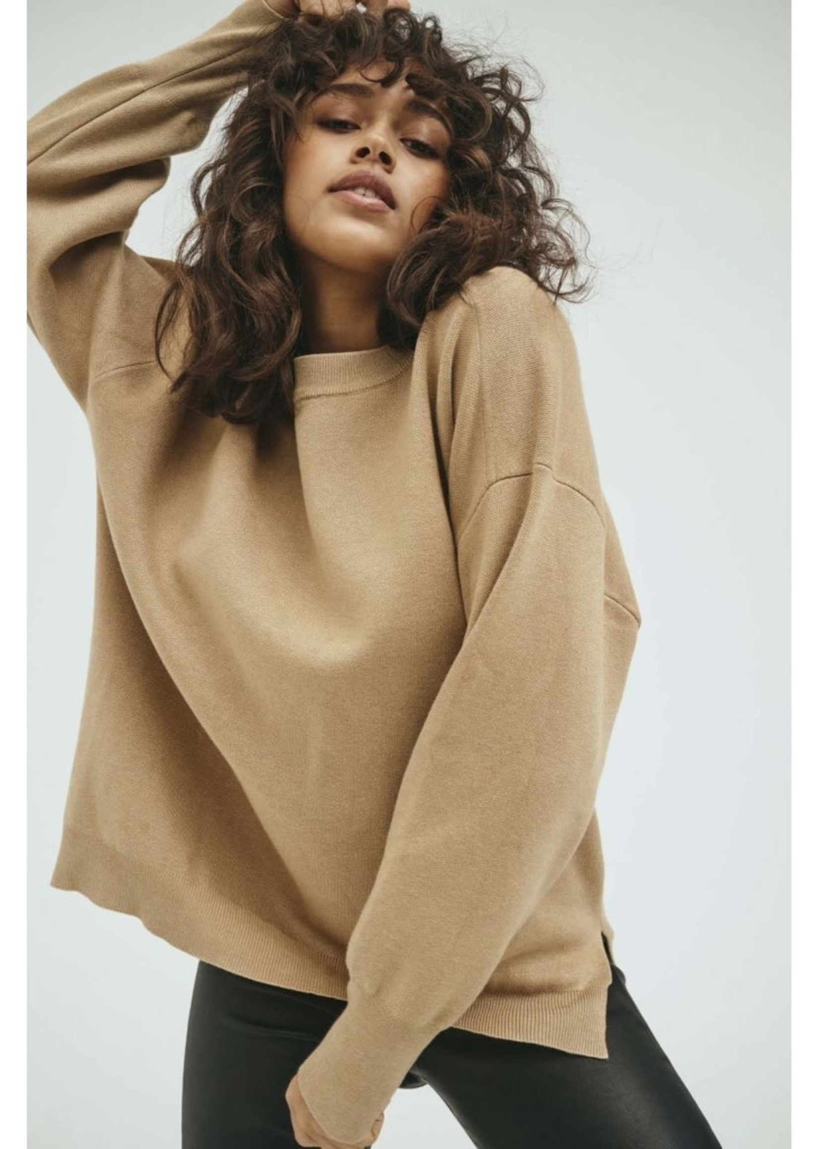 Norr  Als Oversized knit top