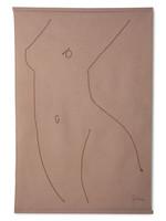 HKliving Wall chart woman silhouette by sella molenaar