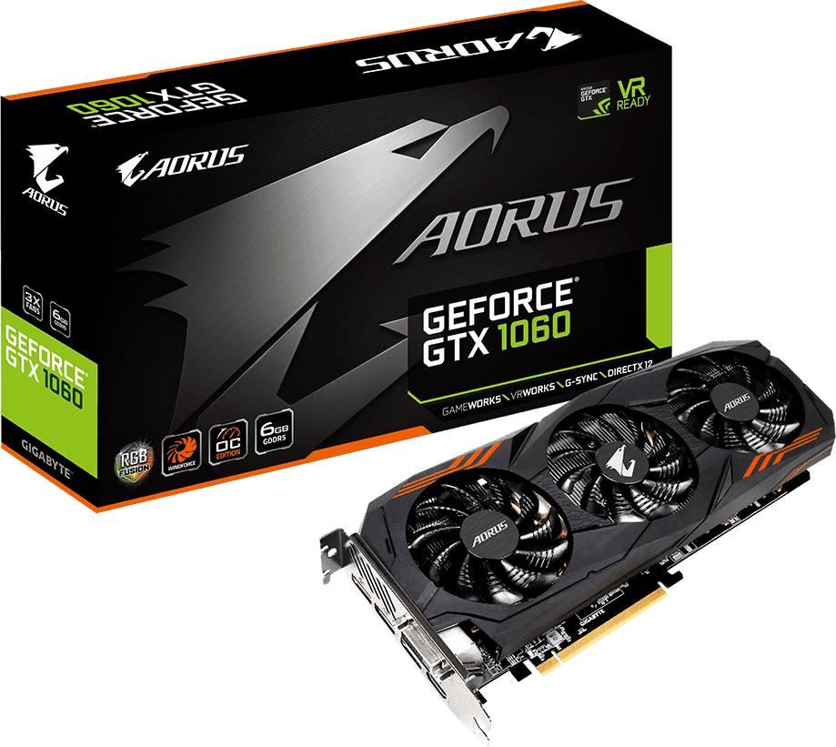 Gigabyte Aorus GeForce GTX 1060 6G (rev. 2.0)