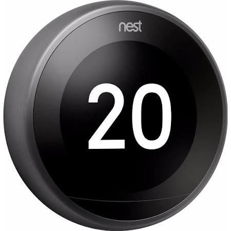 Nest slimme thermostaat 3e generatie Zwart