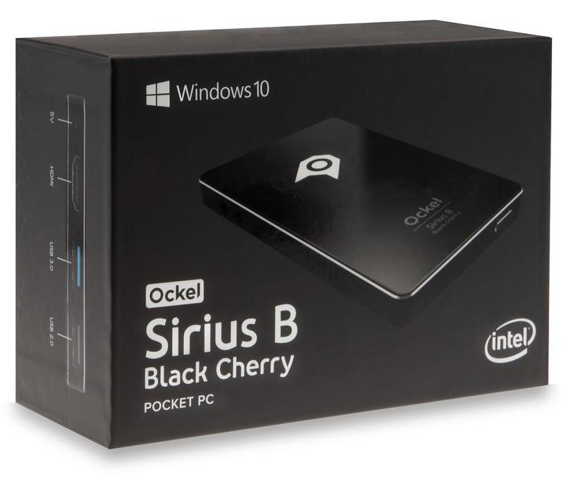 Ockel Sirius B Black Cherry x5-Z8350 32GB