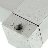 Tiger Items Thermostatische Douchekraan - 15 cm hartafstand - RVS Geborsteld