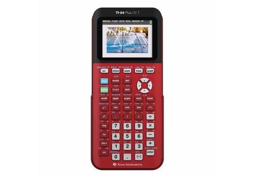 TI-84 Plus CE-T rood Tweedehands