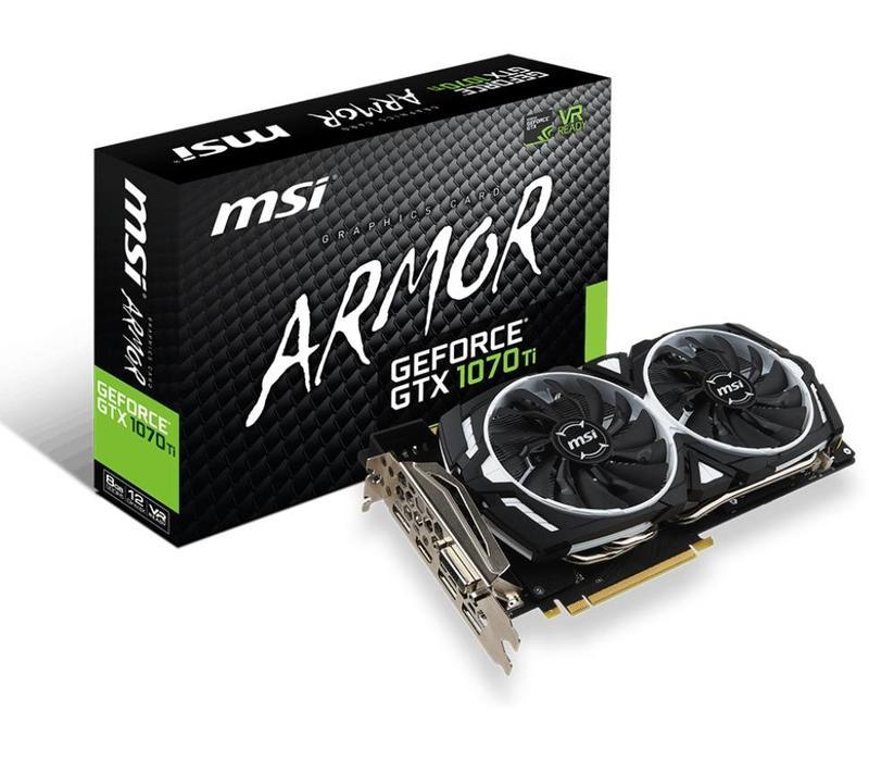 MSI GeForce GTX 1070 Ti Armor 8G