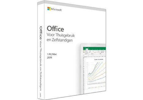 Microsoft Office 2019 Home & Business PC & MAC (NL)