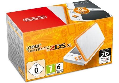 New Nintendo 2DS XL Wit/Oranje