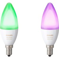 Philips Hue white and color ambiance E14 duopack