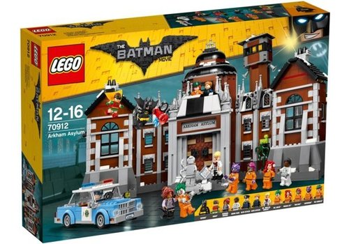 LEGO Batman Movie Arkham Asylum 70912